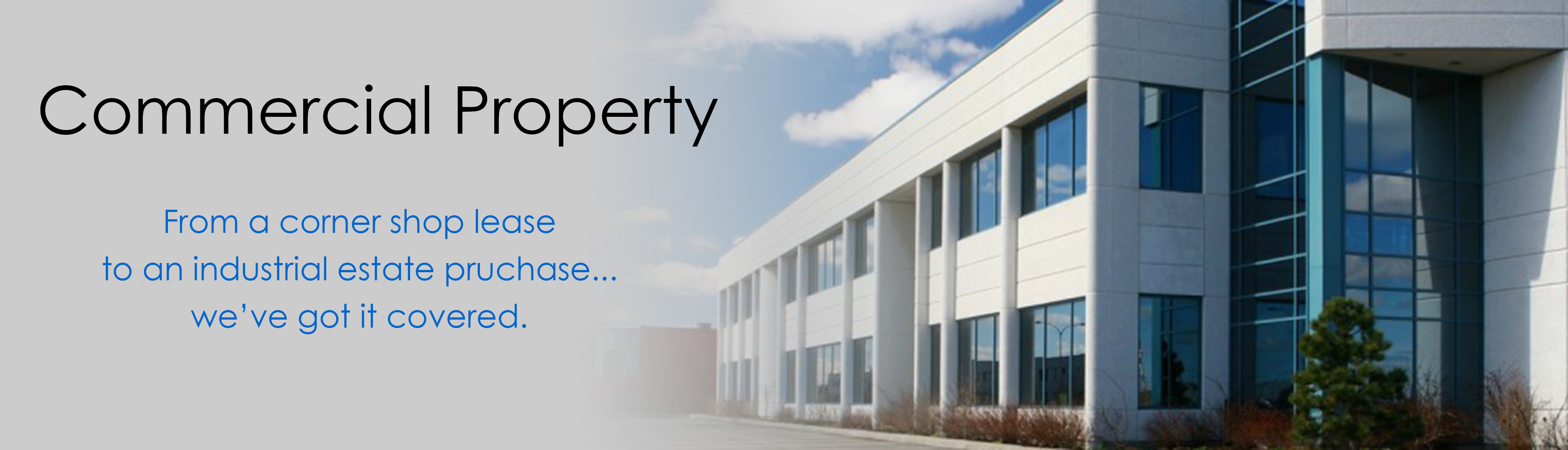 Commercial Property Industrial : Commercial property prh solicitors business
