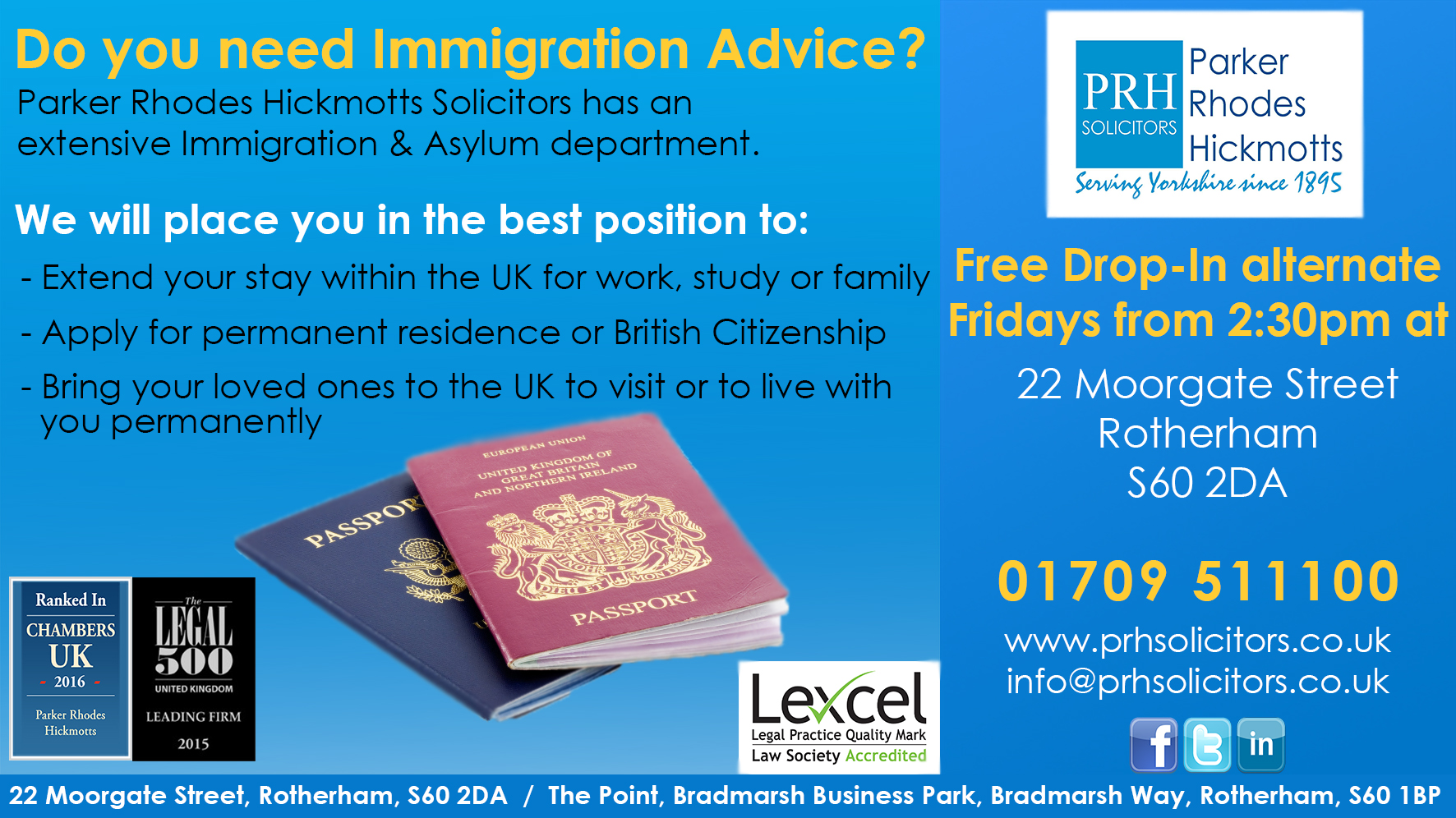Immigration Drop In