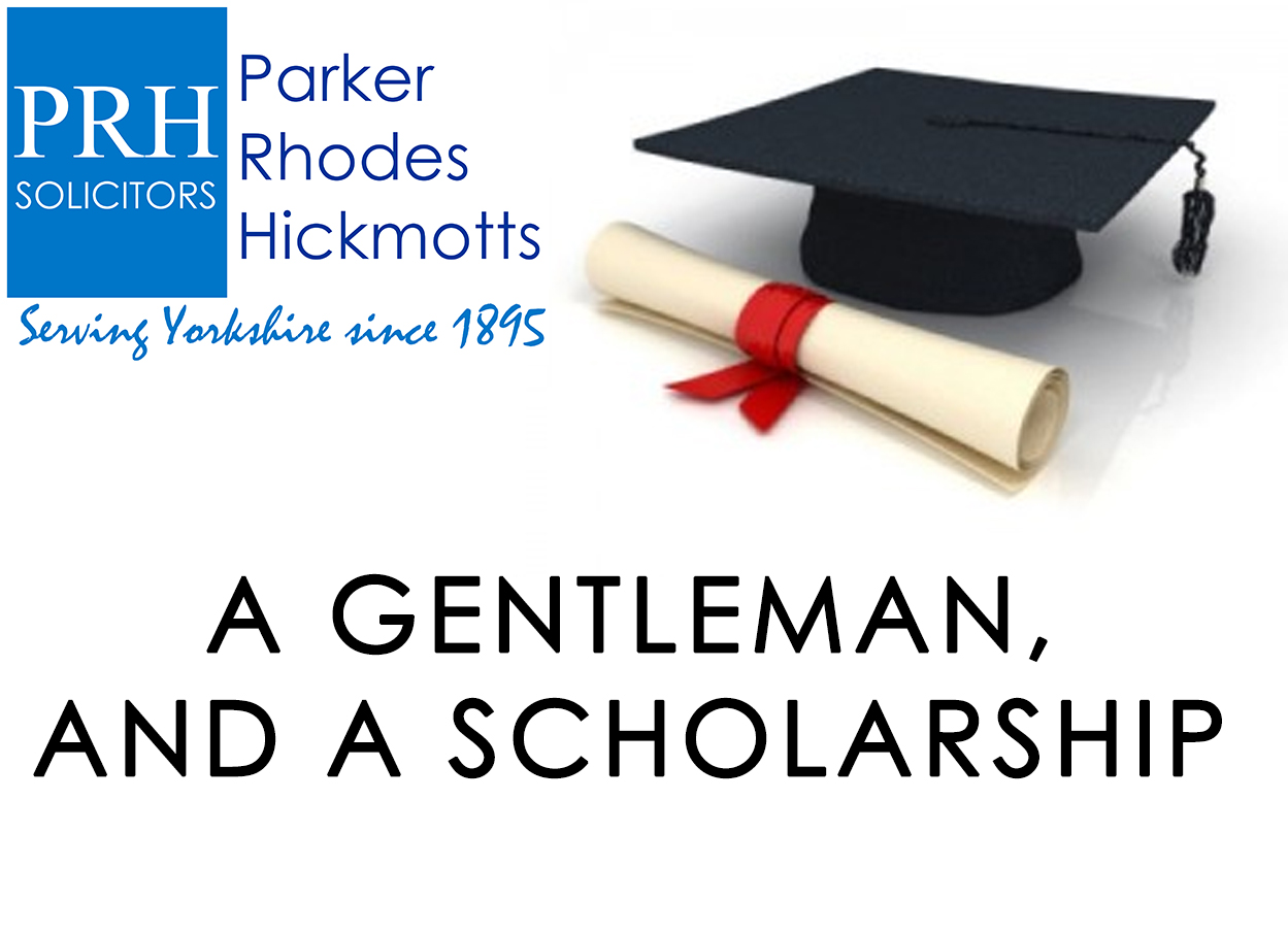 A gentlemen and a scholarship
